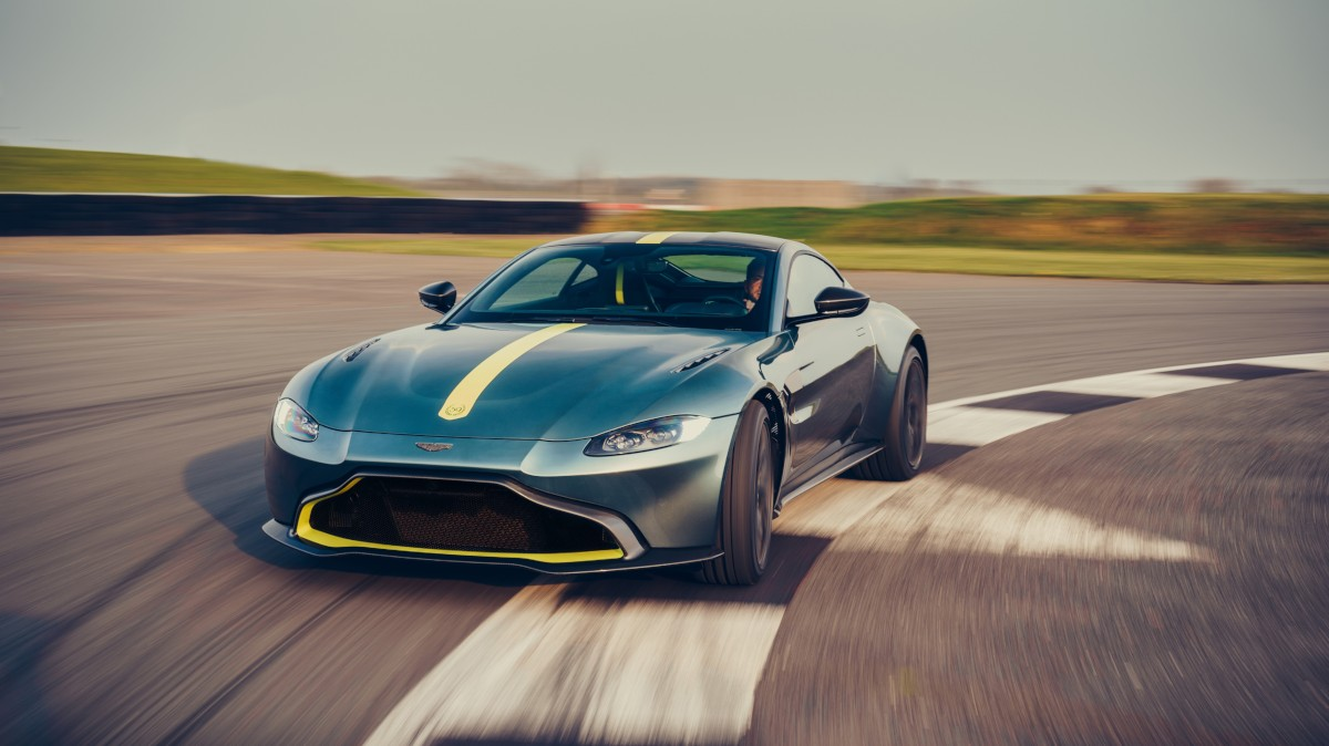 Experience True Driving Exhilaration with the New Aston Martin Vantage AMR Manual