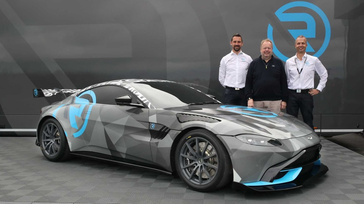 Aston Martin Launches One-Make Racing Series