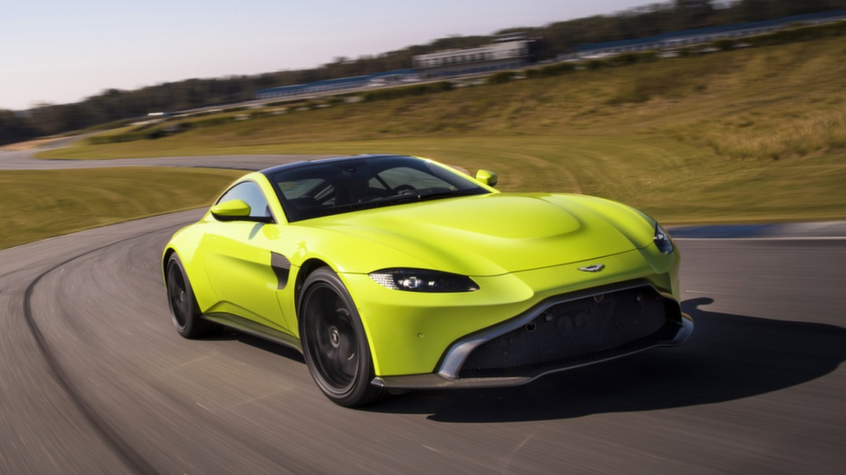 A sporting dynasty: the new Aston Martin Vantage