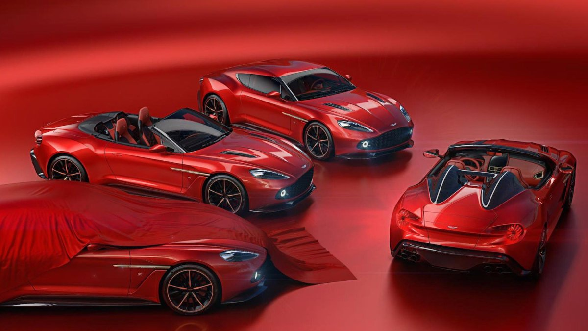 Vanquish Zagato family gains Speedster & Shooting Brake